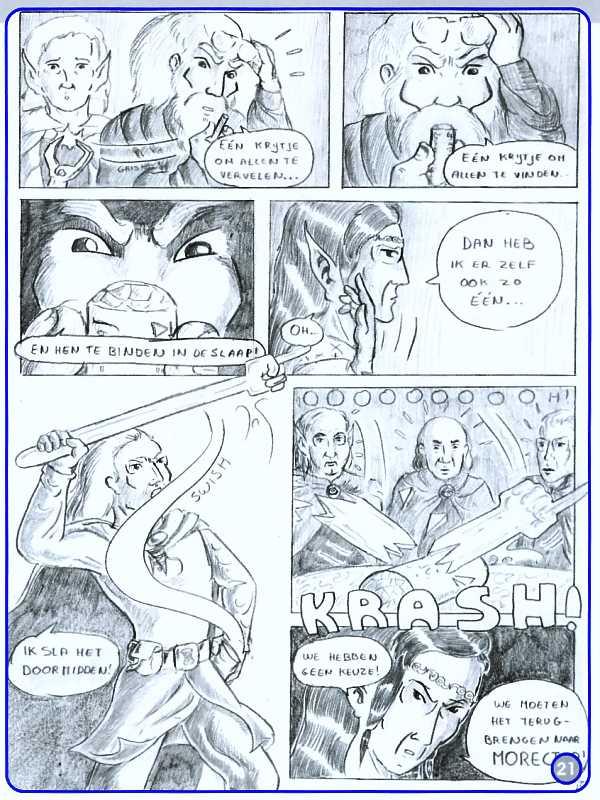 In de Ban van het Krijtje p. 5