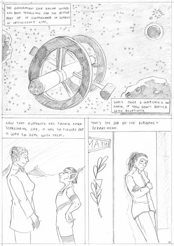 Travels of the Solar Wind p. 1