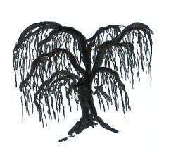 Inked tree.