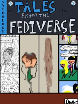 Cover of tales of the fediverse 4.